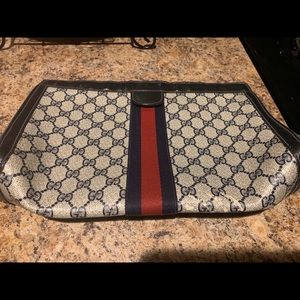 Authentic Vintage Gucci Cosmetic Bag